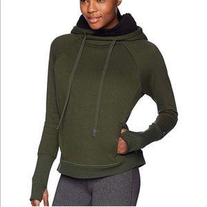 Alo yoga frost green hoodie